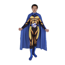 купить Deluxe Sentry Costume Cosplay For Adult Superhero Costume For Men Halloween Costume For Adult Carnival Party Suit Jumpsuit по цене 2939.37 рублей