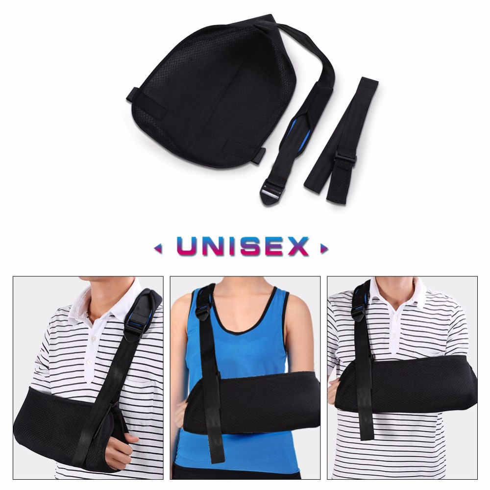 Sport Arm Sling Medical Elbow Wrist Support Brace Breathable Arm Fracture Protector Hang Band Dislocation Arm Orthopedic Belt