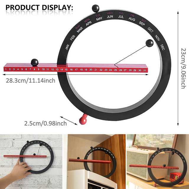 2021 Ins Nordic Style Creative Fashion Time Perpetual Table Calendar Manual Desk Calendario Home Decoration Best Birthday Gift 6