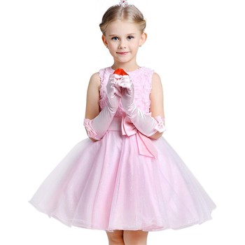 Christmas Baby Girls Dress For Evening Prom Party Costume Teenage Girls Kids Clothes Wedding Birthday Gown Little Girl Red Gown 5