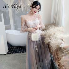 Женское платье с вышивкой it's yiiya белое ТРАПЕЦИЕВИДНОЕ