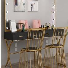 Building-Dressing-Table with Lamp Professional Shop Led-Light-Bulb Dresser for Film