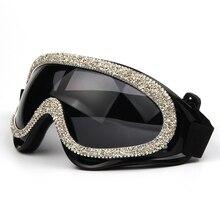 2019 mode sexy winddicht sonnenbrille frauen luxus designer kies strass herren brille shades sonnenbrille für weibliche