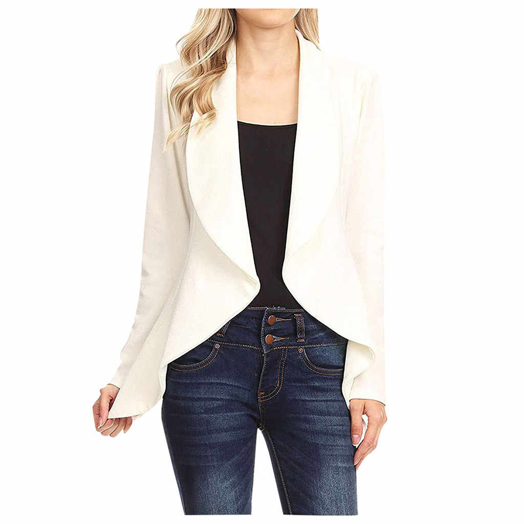 chaqueta largo de vestir mujer