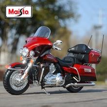 Maisto 1:12 2013 Electra Glide Ultra Limited литые автомобили, коллекционные хобби модель мотоцикла, игрушки