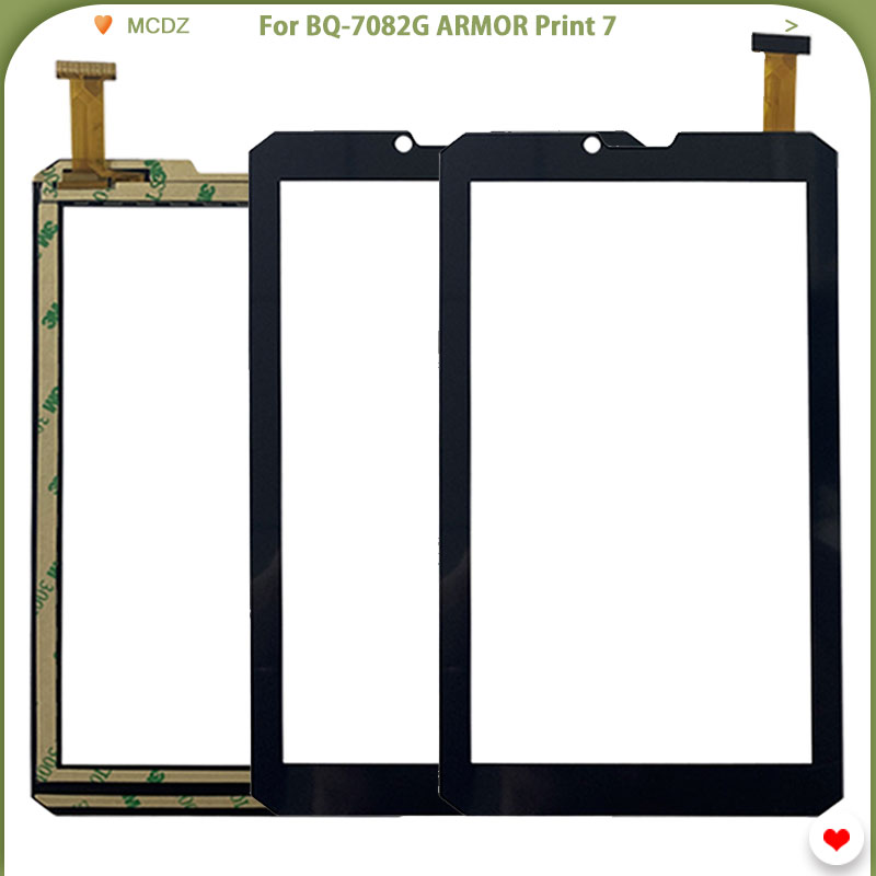 New Touch Screen For BQ-7082G ARMOR Print 7 Mobile Sensor Panel Digitizer Assembly Front Glass