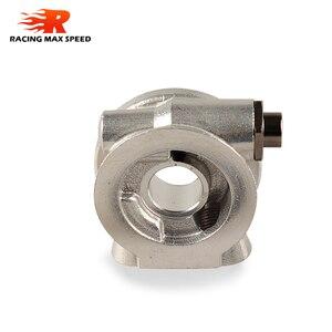 Image 4 - Radiatore olio adattatore Sandwich Piastra Con Termostato E Adattatore Fili AN10 AN8 adattatore filtro olio SW07
