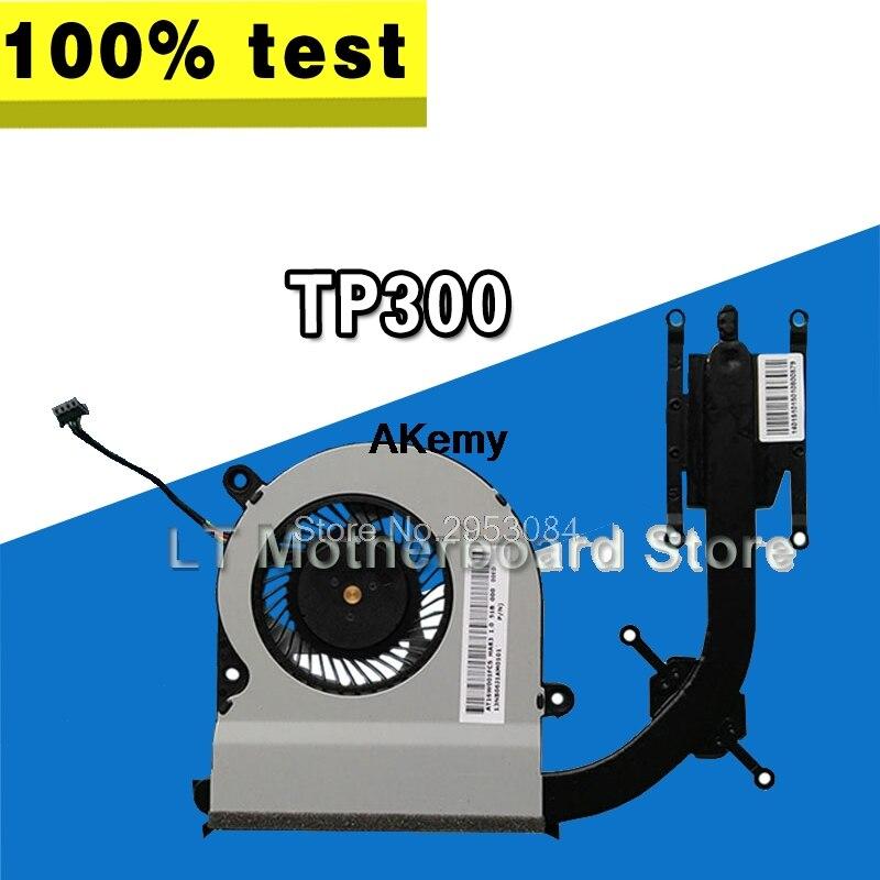 Для For Asus TP300 TP300L TP300LD TP300LJ TP300LN TP300LA охлаждающий вентилятор для ноутбука радиатор Радиатор Охладитель протестированный хорошо материнская пл...