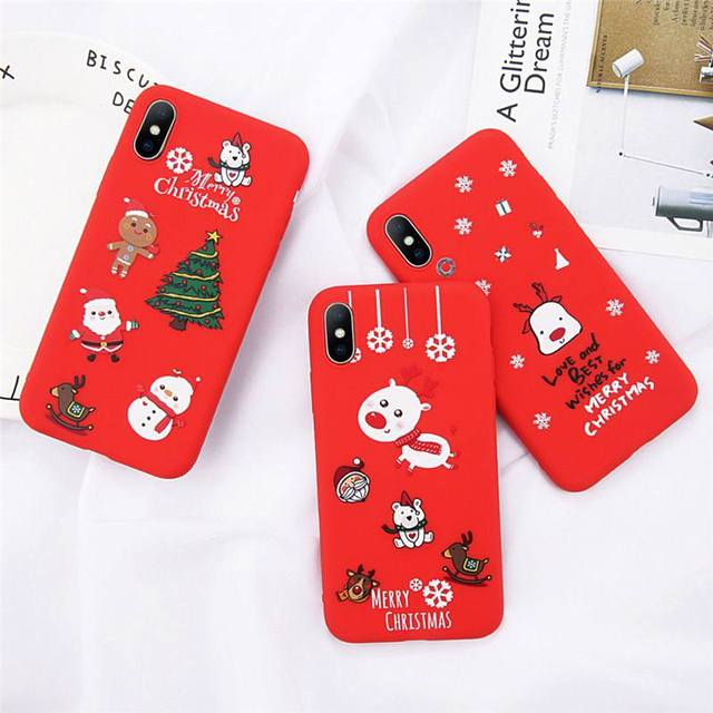 Cute Animal Cover Silicone Phone Case for iPhone 6 6s 7 7Plus 8 8Plus X XR XSMAX Soft TPU Frosted Touch Luxury Simple Heart