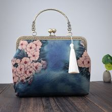 2019 Winter Fashion Retro Ladies Clutch Bag Creative Chinese
