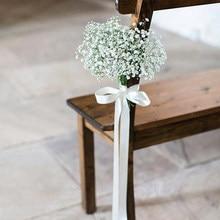 Gypsophila plantas artificiais para casa decoração de casamento falso flores de plástico decorativo segurando flores fotografia adereços