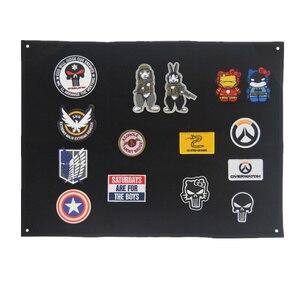 Image 3 - Patch stockage panneau daffichage militaire Collection brassard finition tissu Badge affiche armure fond bricolage Nylon tenture murale