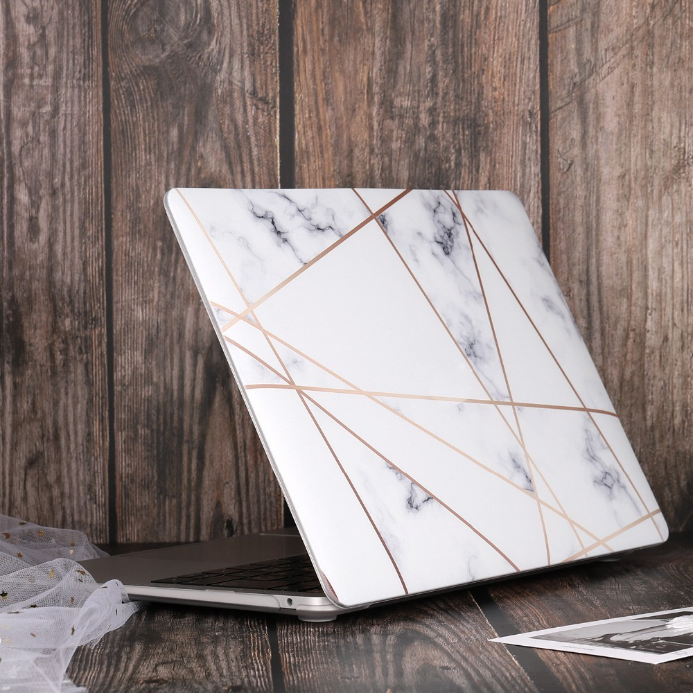 Marble Flower Bling Case for MacBook 77