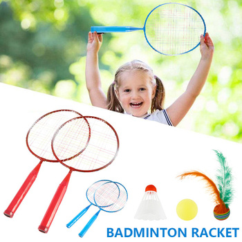 Children's Badminton Rackets with badminton Offensive Badminton Racket Racquet Training Sports