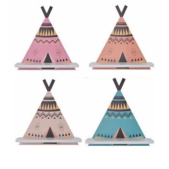 Styl skandynawski drewniany namiot Decor półka ścienna akcesoria do dekoracji wnętrz pokój dziecięcy półka dziecięca wystawa sklepowa tanie i dobre opinie Do Montażu Na Ścianie Nowoczesne Drewna