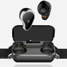 T99 TWS Smart Binaural Bluetooth Headphone Fitness Bracelet Heart Rate Monitor Smart Wristband Sport Watch Men Women