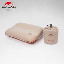 Naturehike Inflatable Pillow 3D Tofu Ultralight Portable Sleeping Pillow Sponge Travel Air Pillow Hotel Outdoor Camping Pillow