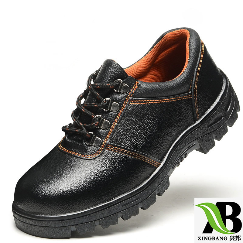 Manufacturers Direct Selling Smashing Anti Puncture Safety Shoes Steel Head Steel Bottom Protective Shoes GH2A