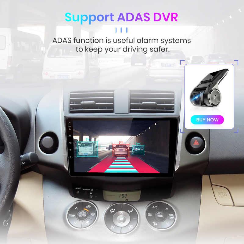 Junsun V1 2G + 32G DSPสำหรับToyota RAV4 Android 9 RAV 4 2007-2011 วิทยุรถยนต์เครื่องเล่นวิดีโอมัลติมีเดียนำทางGPS RDS 2 DIN DVD