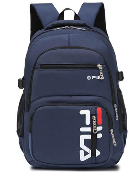 Teens Boy Backpack,Man Casual Nylon Solid Large Capacity Computer Campus Sport Rucksack Bag