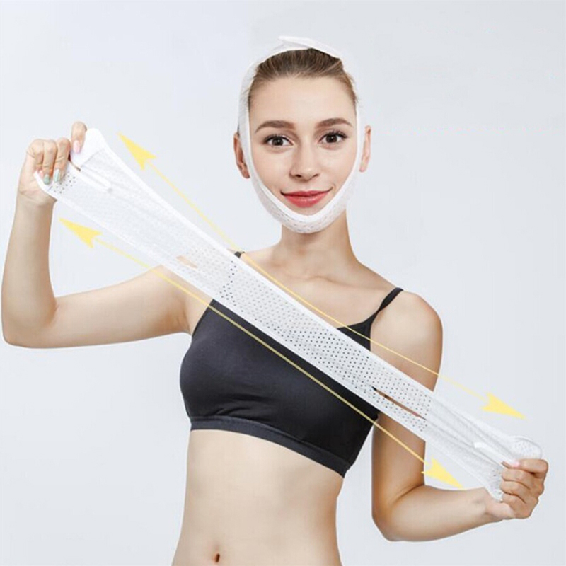 Facial Slimming Face V-Fit Lift Up Belt Thin Neck Mask Sleeping Face-Lift Reduce Double Chin Bandage Face Shaper Skin Care Belt