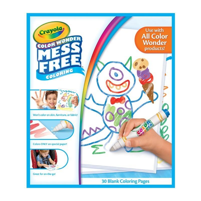 Crayola Senkia Series 30 Page Album Of Painting DIY Painting Toy 75-2479