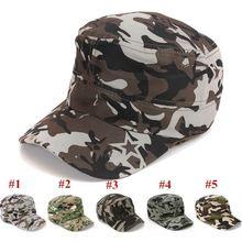 Новая камуфляжная кепка в военном стиле высокого качества на