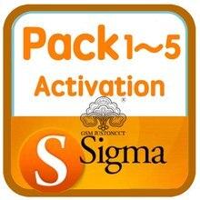 Sigma activación para Sigma box y Sigma key, paquete de 1, 2, 3, 4, 5, entrega en línea