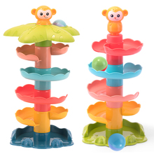 Slide-Toy Baby-Balls Ball-Stacking-Set Game Anti-Stress Plastic Kids Children Indoors