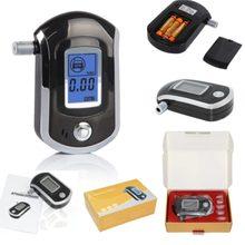 Professionelle Digitale Atem Alkohol Tester Alkoholtester mit LCD Dispaly mit 11 Mundstücke AT6000 mit LCD Display DFDF