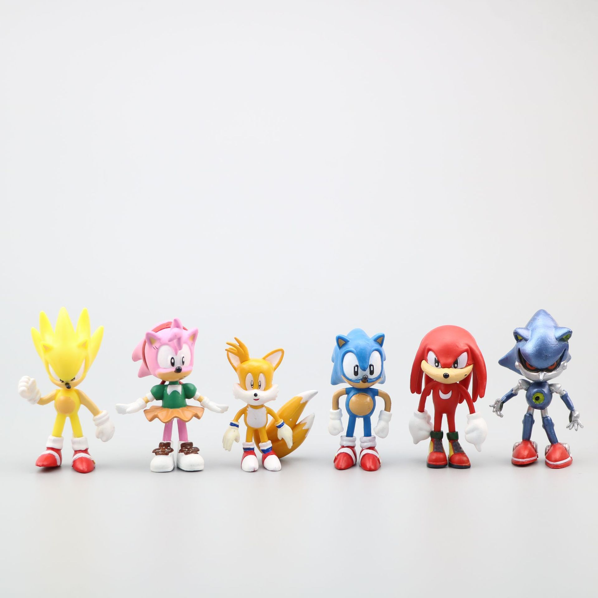 Sonic The Hedgehog Pvc Action Figure Miles Knuckles Amy Rose 60mm Anime Game Movie Sonic The Hedgehog Figurine Toys 6pcs Set Action Toy Figures Aliexpress