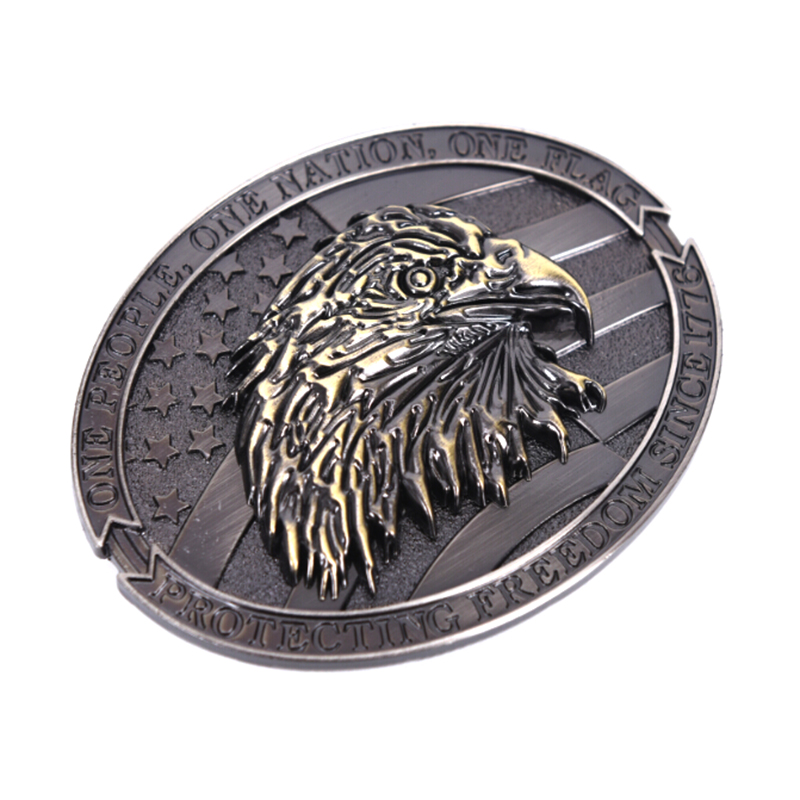 Unisex Luxury Eagle Metal Cool Belt Buckles For Man Western Fashion Buckle Cowboys Cowgirls Paracord Buckle