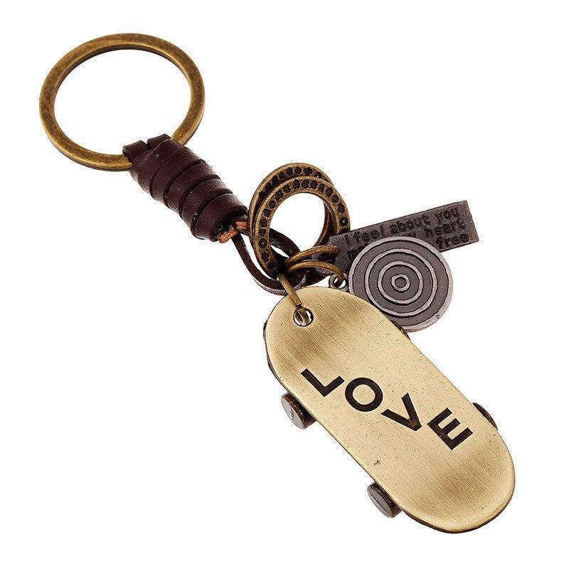 Alta calidad Metal Scooter monopatín accesorios de llavero para coche llavero moda bolsa encanto Unisex joyería regalo Llave P89
