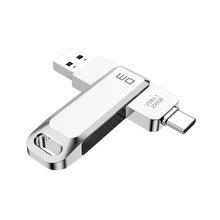 USB C Type C USB3.1 flash drive PD168 32GB 64G 128G 256G for Andriods SmartPhone Memory MINI Usb Stick