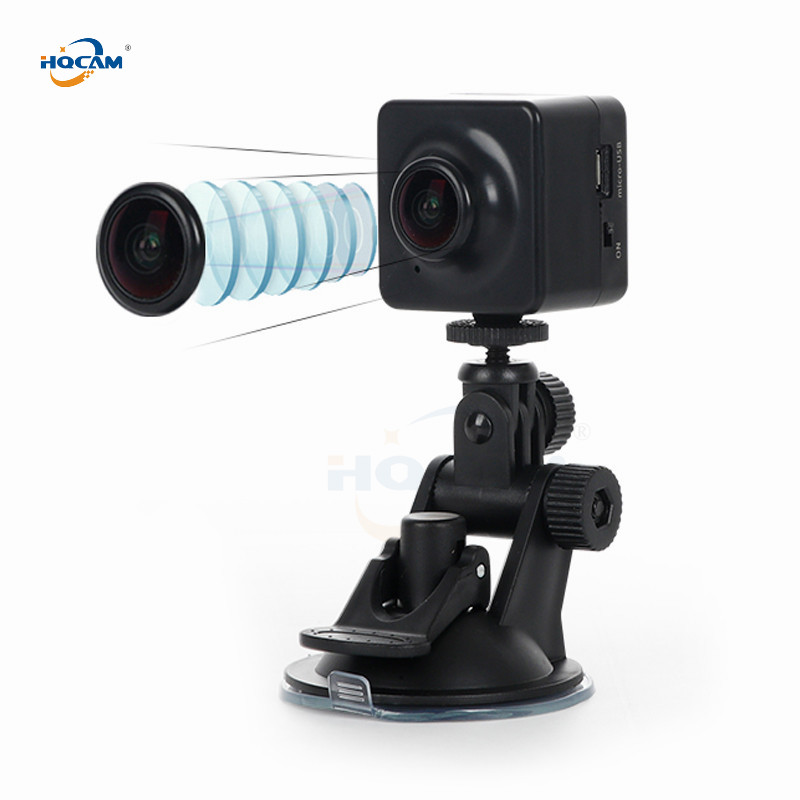 mini ip camera Push Video Stream RTMP Live alarm RTSP SD card FTP Streaming gimbal Car DVR camera 1080P Wifi auido battery image