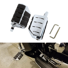 For Harley Sportster XL Models 883 1200 XL883 XL1200 For Honda GOLDWING GL1500 Foot pegs Footrests Softail Floor Boards Footpeg for harley sportster xl models 883 xl883 xl1200 touring road king street highway adjustable clamps footrest footpeg foot pegs