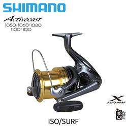 SHIMANO ACTIVECAST  Surfcast Reel 1050 1060 1080 1100 1120 6.0/6.2/6.4 Low-Profile Saltwater Beaches Spinning Fishing Reel coil
