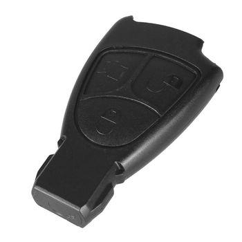 Premium 1pc 3 przyciski wymiana obudowa pilota z kluczykiem samochodowym dla Mercedes Benz C E ML klasa Alarm pokrywa obudowa kluczyka samochodowego części samochodowe tanie i dobre opinie CN (pochodzenie) China Other 1 5cm 6 5cm Plastic 1 x Car Key Replacement Case 3 6cm Replacement Key Shell 3 Buttons with lock unlock safe