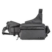 LEO 3.7L 3-Layer Large Capacity Durable Fishing Bag EVA Waterproof Fabric Fish