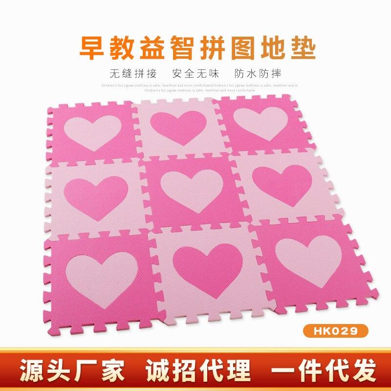 Meng LEPAO Eva Floor Mat Joint Jigsaw Puzzle Mats Thick 30*30 Children Environmentally Friendly Foam Crawling Mat