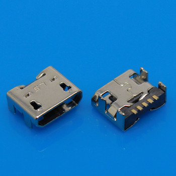 Micro USB Jack connector charging port for LG E400 E610 P700 P705 P880 F180 LF200 /for Google nexus4 charging connector 1pcs/lot image