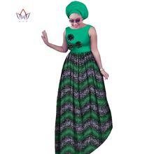 Brw африканские платья размера плюс для женщин dashiki afrian