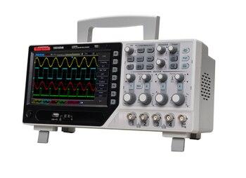 Original DSO4084B Digital Oscilloscope 80MHz 1GSa/s Real Time 4 Channels Oscilloscope+EXT+DVM+Auto Range Function