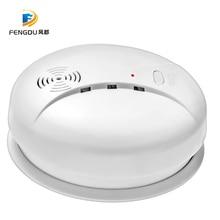 Высокое качество 433 МГц беспроводной датчик пожарной сигнализации Пожарная Защита детектор дыма для внутренней кухни система охранной сигнализации для дома