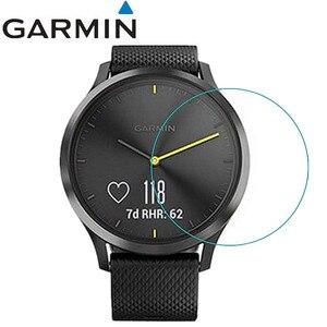 Image 1 - 3 шт., защитная пленка для экрана часов Garmin VIVOMOVE HR HD от царапин, Электростатическая защитная пленка из ПЭТ