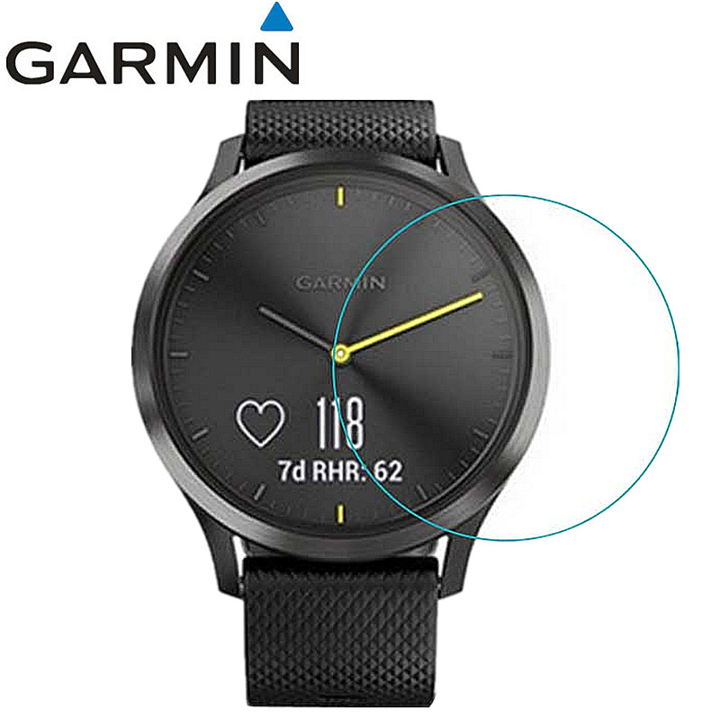 3 Pcs Watch Screen Protector Guard Cover Shield Film For Garmin VIVOMOVE HR HD Anti-scratch Electrostatic PET Protective Film
