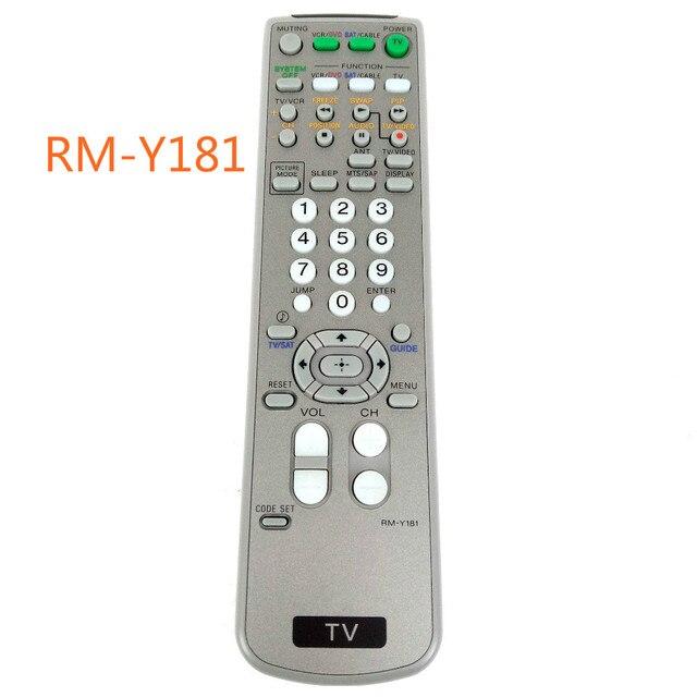 جديد الأصلي لسوني TV VCR DVD البث الفضائي استبدال عن بعد التحكم RM Y181 Fernbedienung