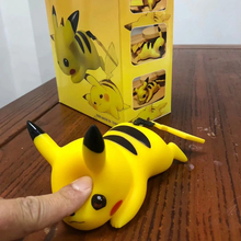 Anime Figure Ash Pikachu Soft Ver. PVC Action Figures Collection Model Toy For Kids Gift 1 18 joytoy action figures hardcore us army paladin military soldier figure model toys collection toy anime christmas gift