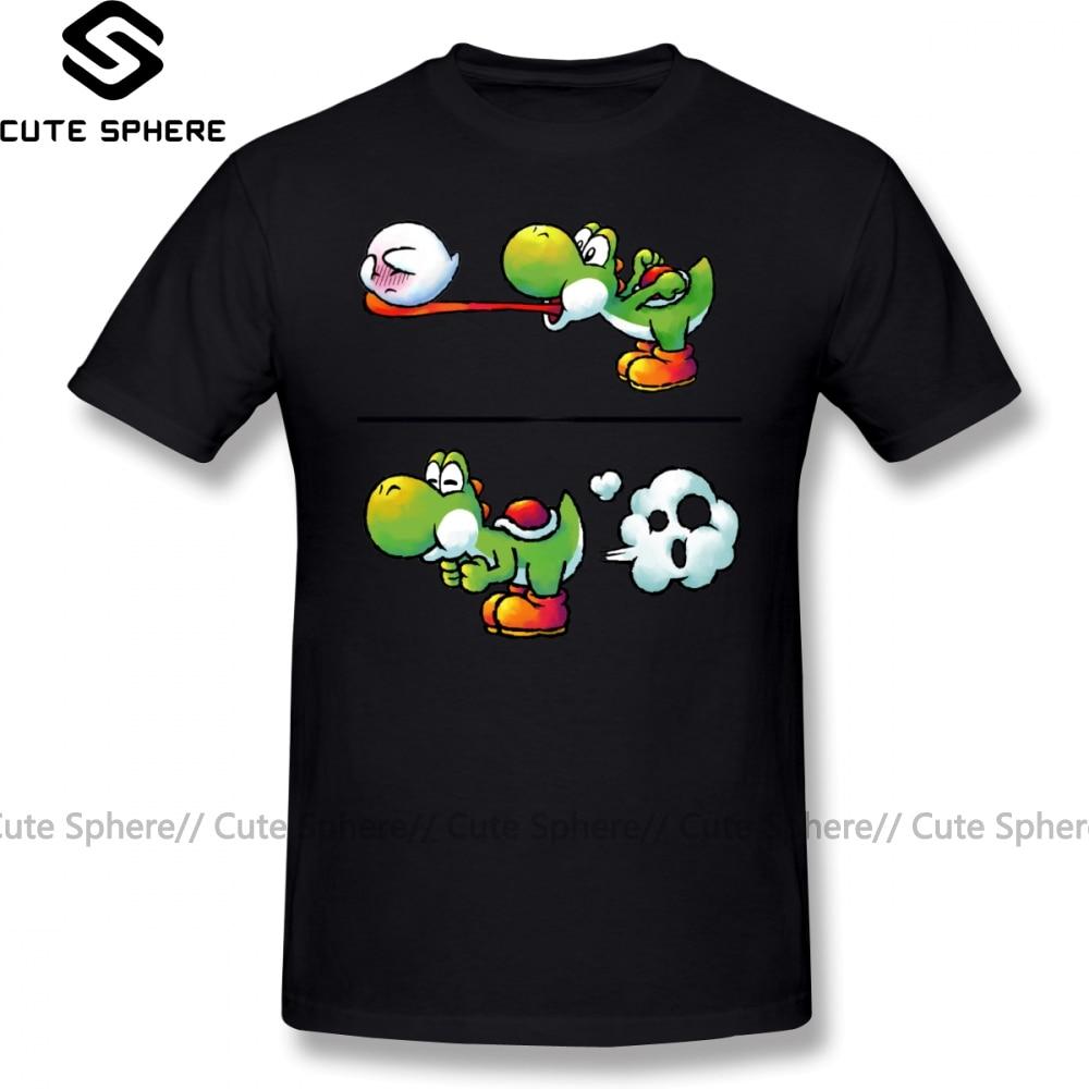 Super Smash Bros T Shirt Farting Yoshi T-Shirt 100 Cotton Fashion Tee Shirt Mens 6xl Cute Short-Sleeve Printed Tshirt
