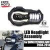Hàng Mới Về! ĐÈN LED xe máy Đèn Pha Máy Chiếu cho XE BMW R1200GS 2004 2012 R 1200GS ADV Phiêu Lưu năm 2005 2013 Moto Đèn Lắp Ráp